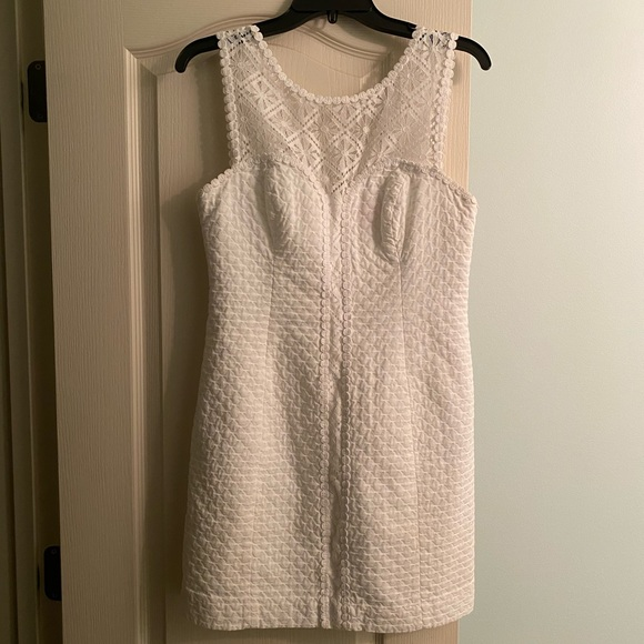 Lilly Pulitzer Dresses & Skirts - Worn once! Lilly Pulitzer White Dress
